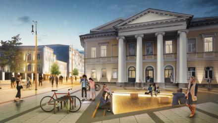 Новый проект благоустройства Большой Покровской выполнит компания из Ростова-на-Дону