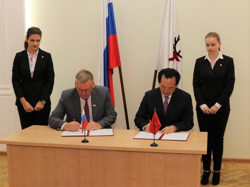 Гордума Нижнего Новгорода подписала соглашение о сотрудничестве с китайским городом Цзинань - фото 1