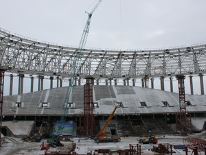 Большой фоторепортаж со стадиона «Нижний Новгород»