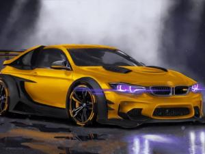 Аноним на BMW помял две «Лады» в Сормовском районе