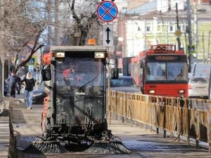 В Нижнем Новгороде началась мойка дорог и тротуаров