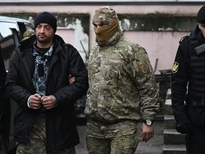 В Крыму арестованы 15 украинских моряков