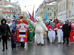 Фестиваль «Горьковская елка» стартовал в Нижнем Новгороде