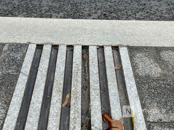 Стоки для воды на отремонтированных улицах Нижнего Новгорода доделают к 15 октября - фото 1