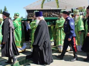 Более ста военнослужащих обеспечивали порядок во время дивеевских торжеств