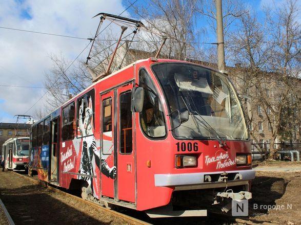 «Трамвай Победы» начал ходить по Нижнему Новгороду - фото 13