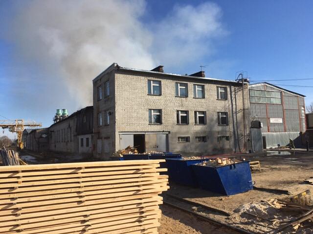 ВНижнем Новгороде гасят сильный пожар — Третий уровень трудности