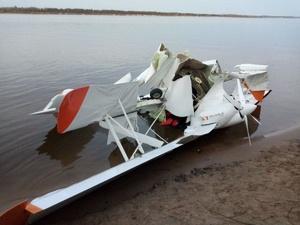 СК проводит проверку по факту падения самолета в Волгу в Кстовском районе