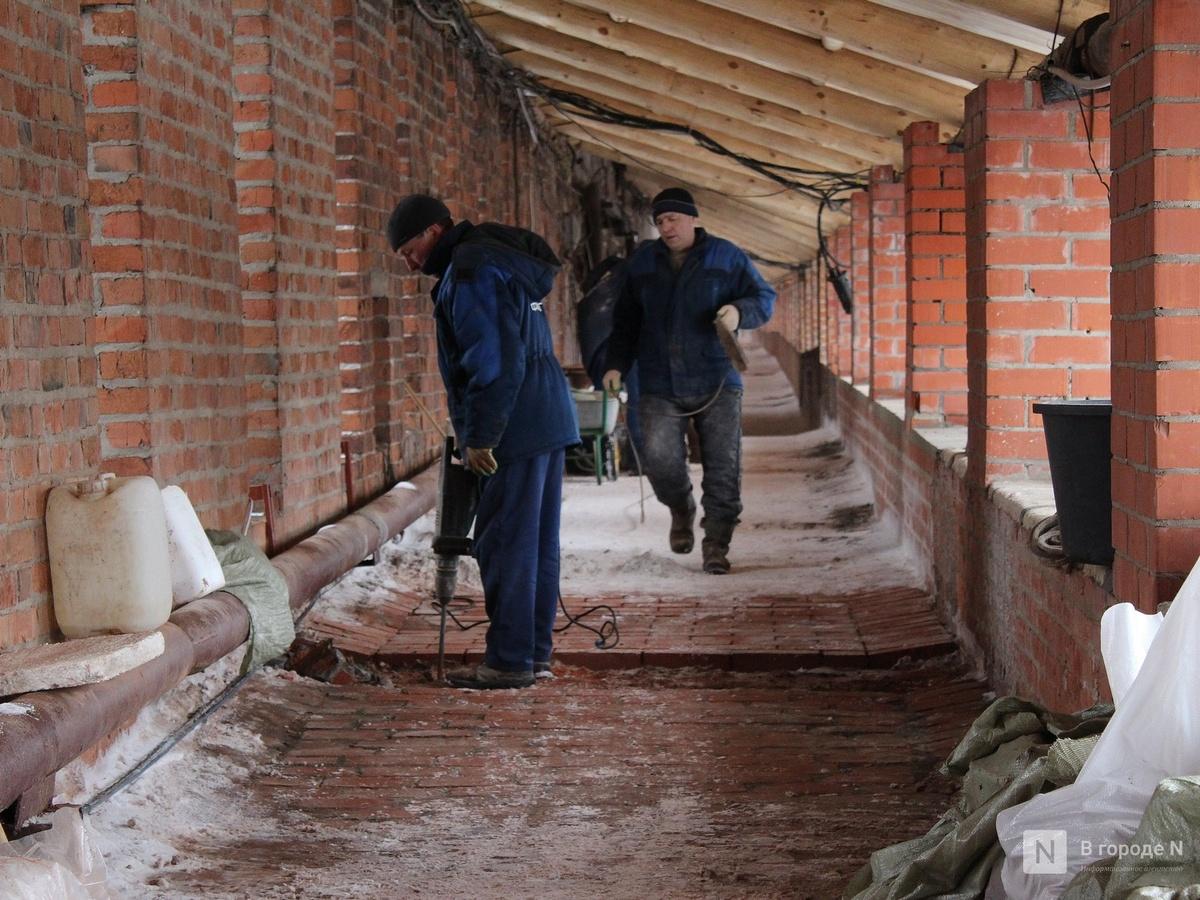 Круговой маршрут по стене нижегородского кремля откроется в августе - фото 1