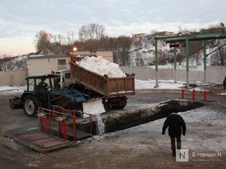 Две станции снеготаяния появятся в Нижнем Новгороде в 2020 году