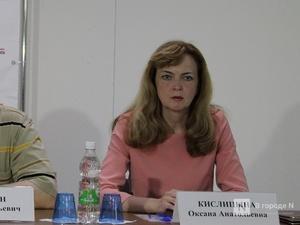 Депутаты согласились видеть Оксану Кислицыну на должности уполномоченного по правам человека в Нижегородской области