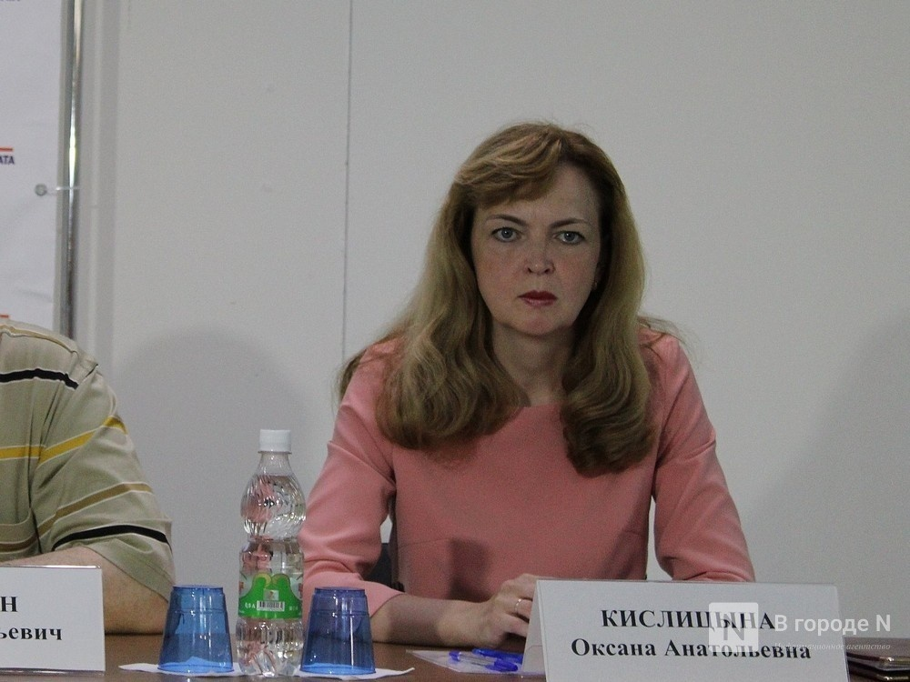 Депутаты согласились видеть Оксану Кислицыну на должности уполномоченного по правам человека в Нижегородской области - фото 1