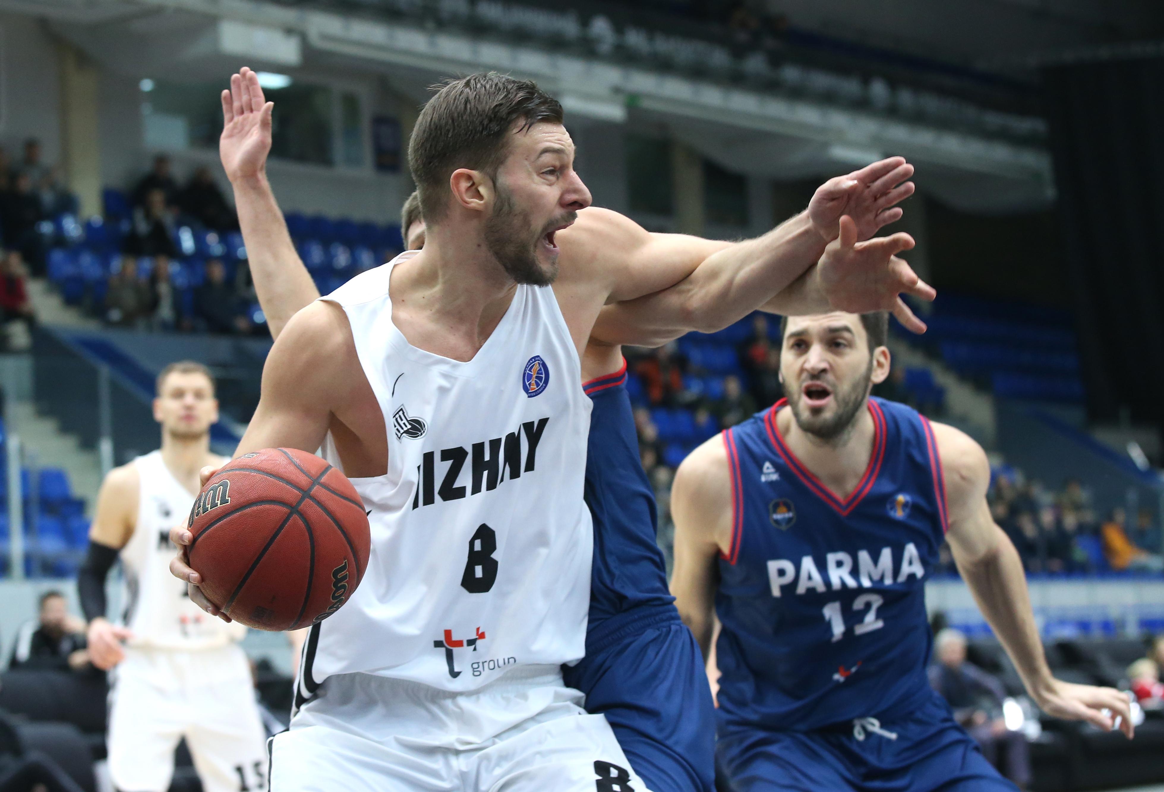 «Парма» одержала 3-ю победу вЕдиной лиге ВТБ