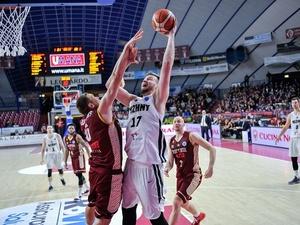 БК «Нижний Новгород» уступил итальянцам в четвертьфинале кубка Европы