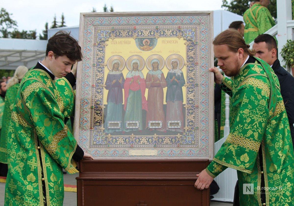Патриарх Кирилл возглавил божественную литургию в Дивееве  - фото 6