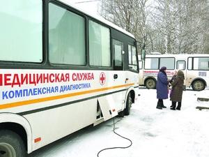 Более 50 населенных пунктов посетят нижегородские «Поезда здоровья» в феврале