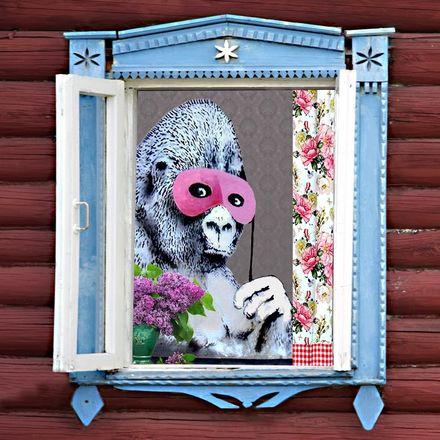 Уличная галерея Бэнкси Нижегородского открылась на улицах Горького и Ильинской - фото 1