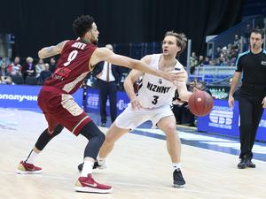 Баскетбольный клуб «Нижний Новгород» обыграл чемпиона Италии