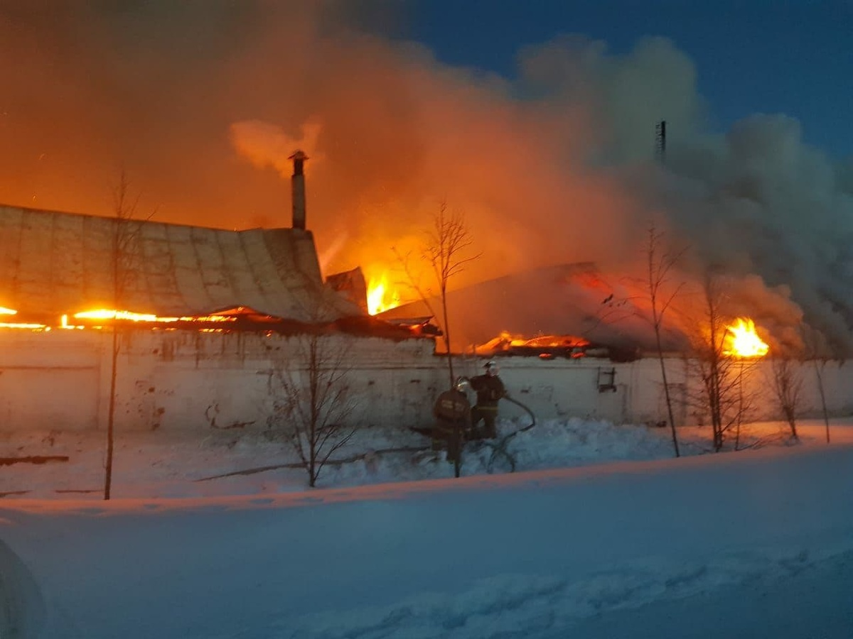 Названы возможные причины пожара в конюшне Оранского монастыря - фото 1