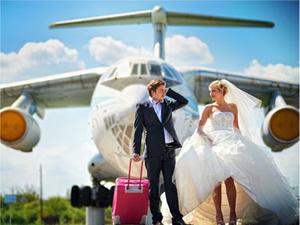 Свадебное путешествие и свадьба за границей