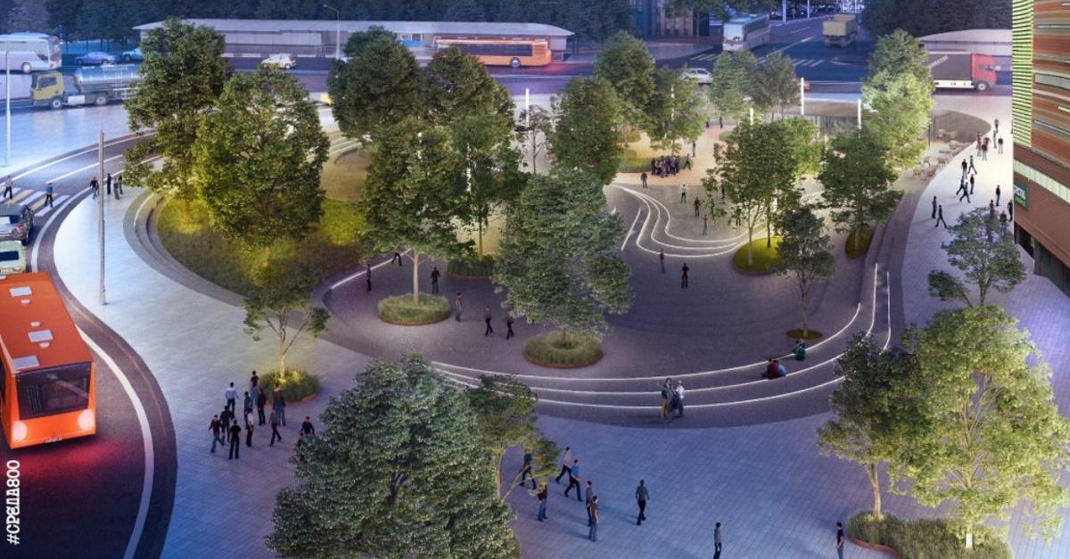 Деревья в кадках и новые скверы: как преобразится улица Большая Покровская - фото 2