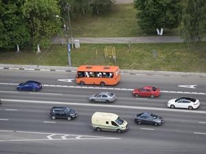 Полоса для общественного транспорта появилась на проспекте Гагарина