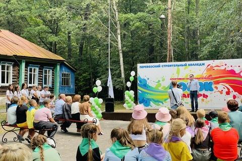 Детский лагерь «Борок» открылся в Перевозском районе после 10-летнего перерыва - фото 1
