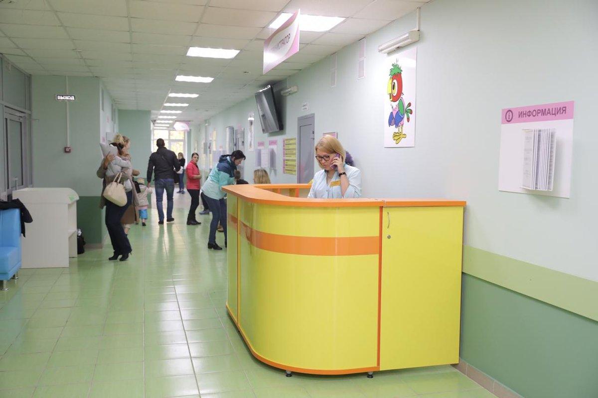 Детскую поликлинику полностью обновили в больнице №39 Нижнего Новгорода - фото 1