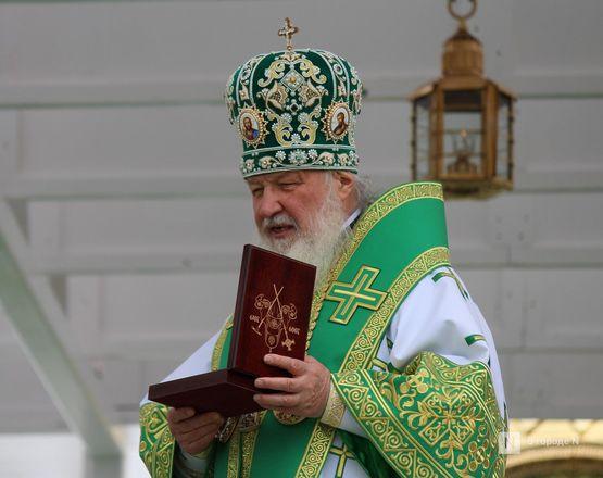 Патриарх Кирилл возглавил божественную литургию в Дивееве  - фото 24