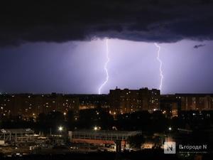 Грозы, ливни и град надвигаются на Нижегородскую область