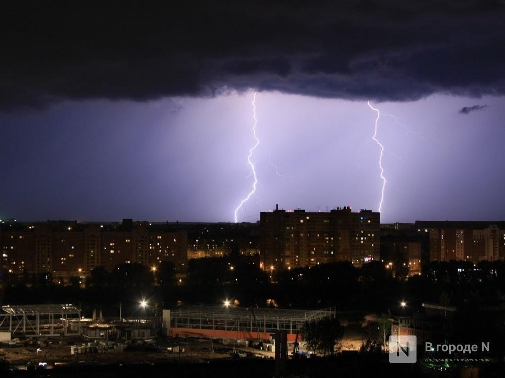 Грозы, ливни и град надвигаются на Нижегородскую область - фото 1