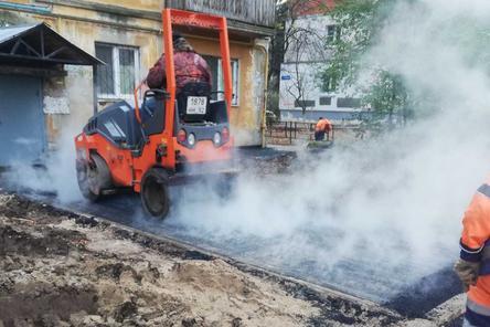 Одиннадцать дворовых территорий благоустроили в Приокском районе