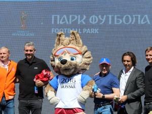В Нижнем Новгороде открылся Парк футбола (ФОТО)