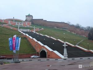 Чкаловскую лестницу отремонтируют за 66 миллионов рублей
