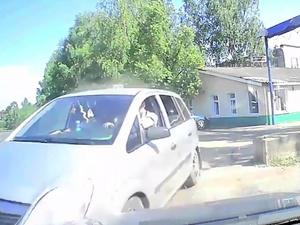 Появилось видео с места смертельного ДТП в Уренском районе