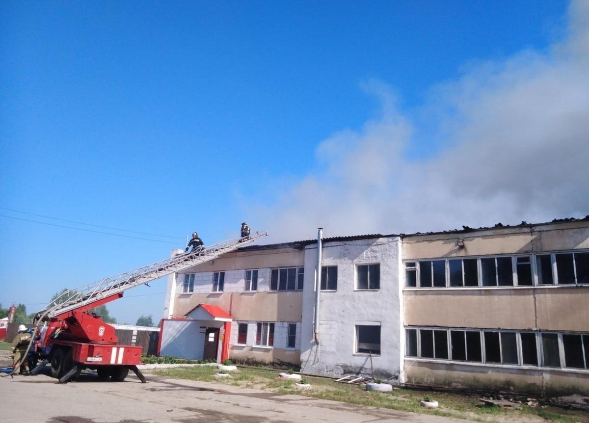 Пожар на заводе в Урене ликвидирован - фото 1