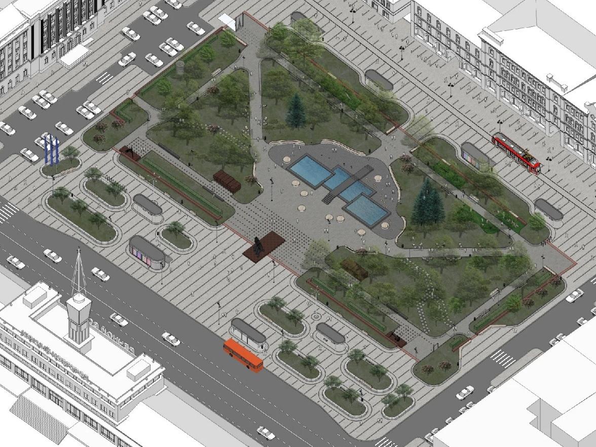 Вдвое больше парковок появится на площади Маркина - фото 2