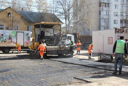 В Канавинском районе отремонтировали 35,5 тысячи километров дорог