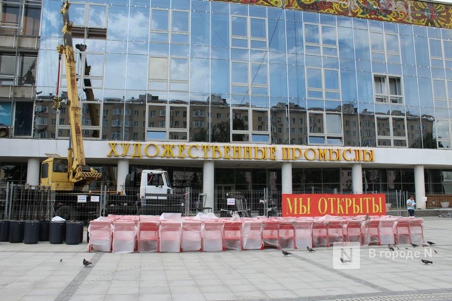 Площадь рядом с нижегородским театром кукол не будут оформлять хохломой - фото 1