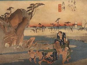 Япония в Нижнем Новгороде: открылась выставка старинных гравюр