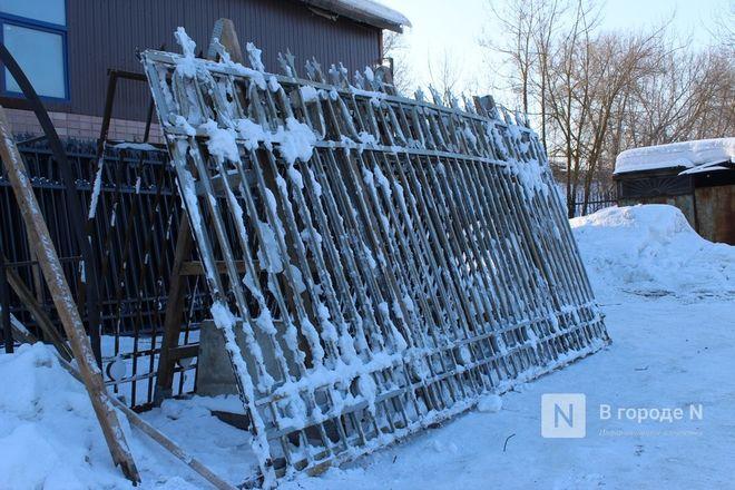 Как идет реставрация исторической ограды парка «Швейцария» - фото 13