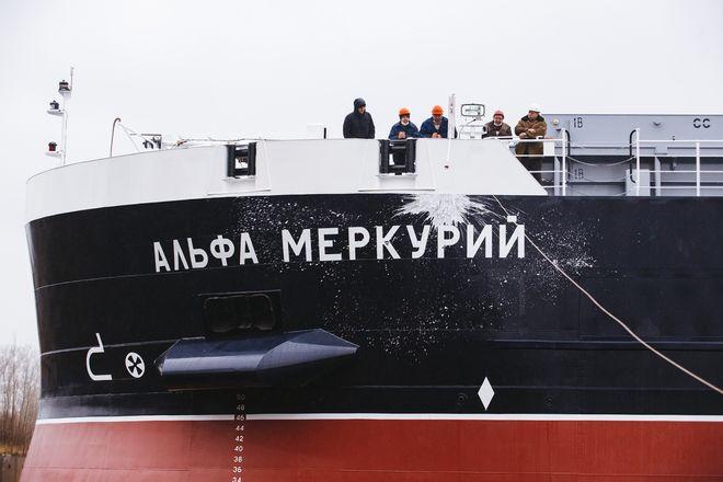 Второй сухогруз «Красного Сормова» для компании «Альфа» спустили на воду - фото 2