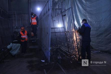 Как идет реставрация исторической ограды парка «Швейцария»