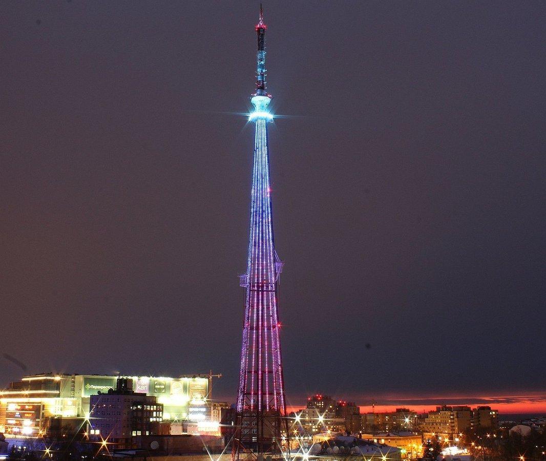Специальную подсветку включат на нижегородской телебашне к федеральному спортивному форуму - фото 1