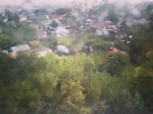 Сильные дожди обрушились на Нижегородскую область