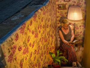 Уютная креативная инсталляция появилась на улице Рождественской в Нижнем Новгороде
