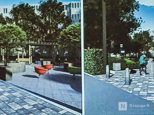 Лофт-пространство планируется обустроить в сквере у дома № 57 на проспекте Ленина