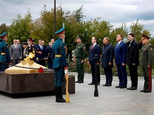 В Туле открыт первый в России мемориал энергетикам — героям Великой Отечественной войны