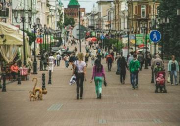 Нижегородцы проголосовали за благоустройство Большой Покровской, Мещерского озера и площади Киселева
