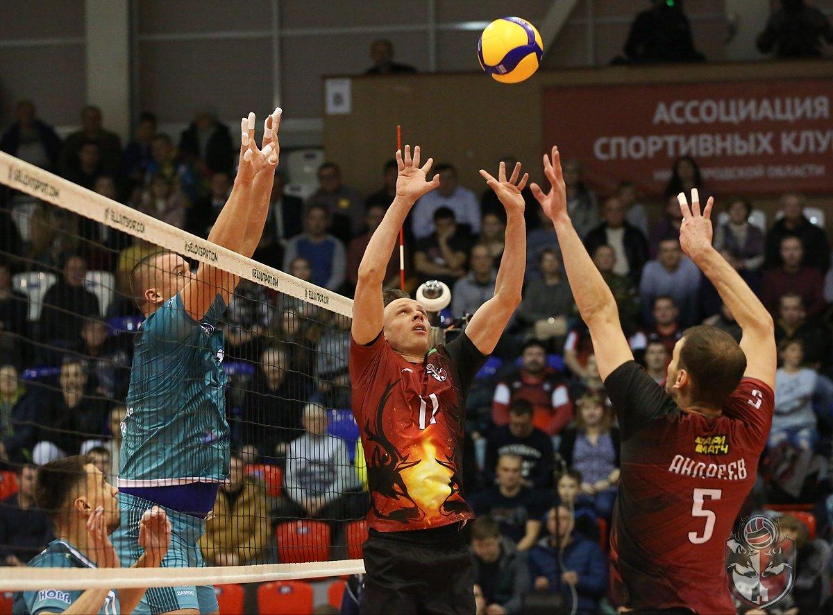 Волейболисты нижегородского АСК одержали первую победу в сезоне - фото 1
